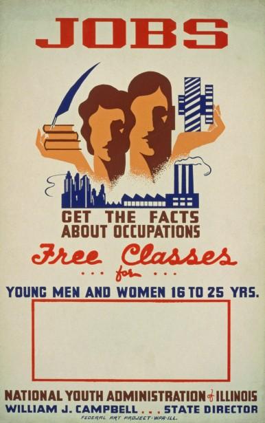 vintage-job-classes-poster
